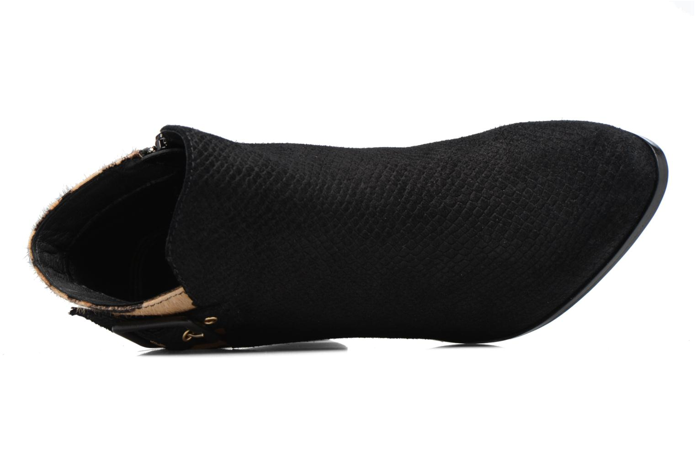 Bottines et boots Dune London Oaklee Noir vue gauche