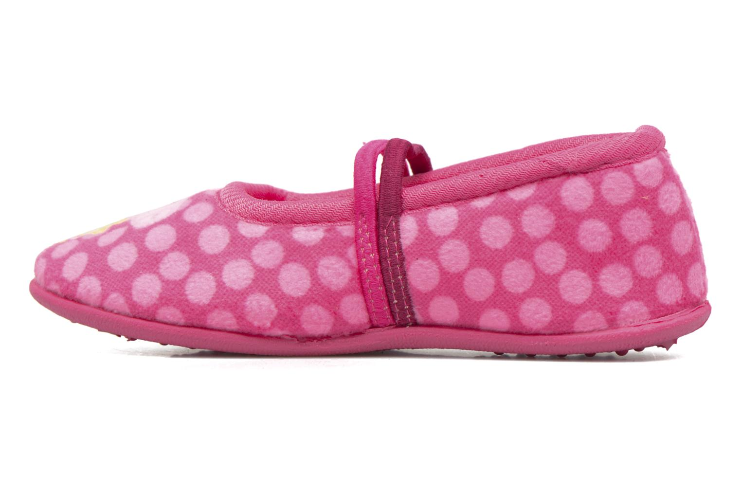 Chaussons Peppa Pig PP Rolane Rose vue face