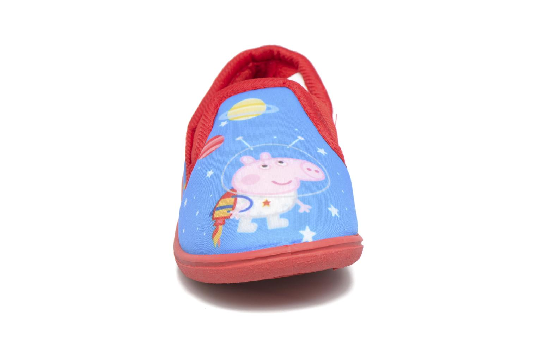 Chaussons Peppa Pig PP Romeo Bleu vue portées chaussures