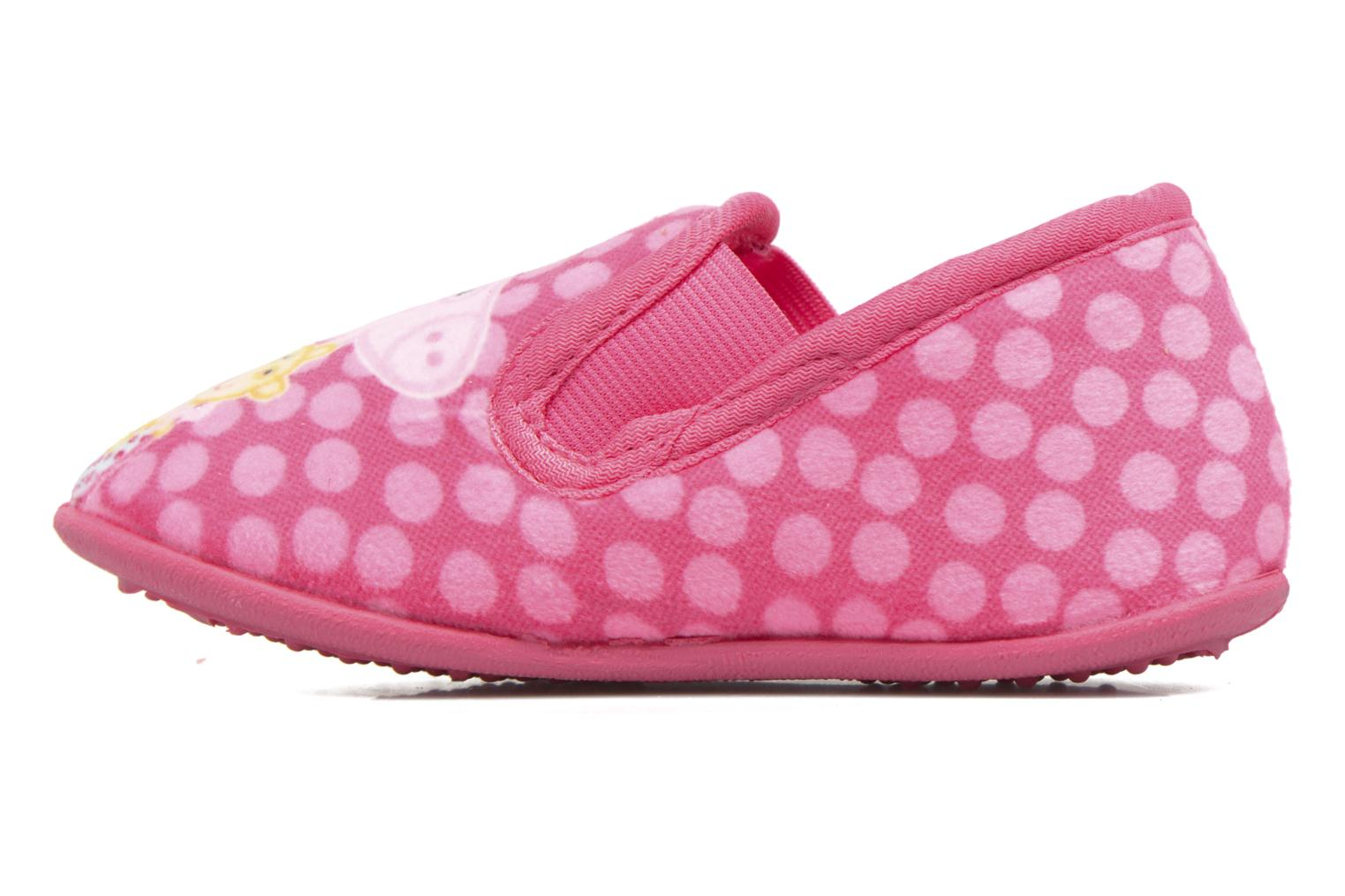Chaussons Peppa Pig PP Romy Rose vue face