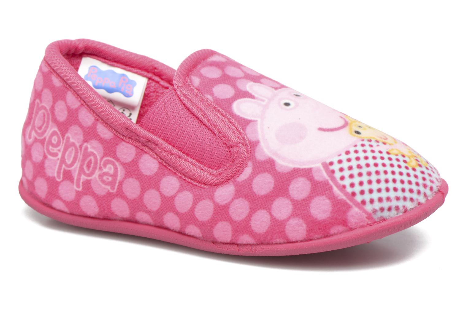 Chaussons Peppa Pig PP Romy Rose vue détail/paire