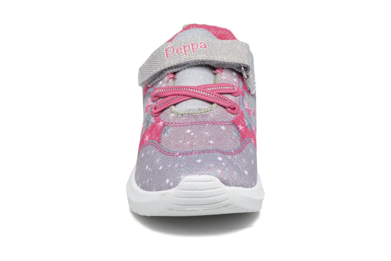 Baskets Peppa Pig PP Nef Gris vue portées chaussures