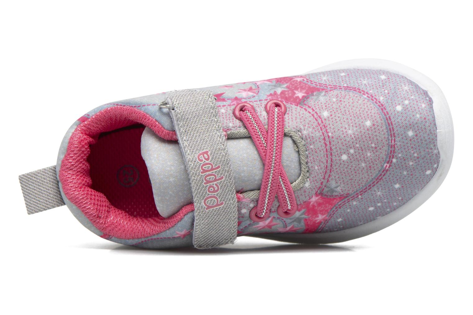 Sneakers Peppa Pig PP Nef Grigio immagine sinistra