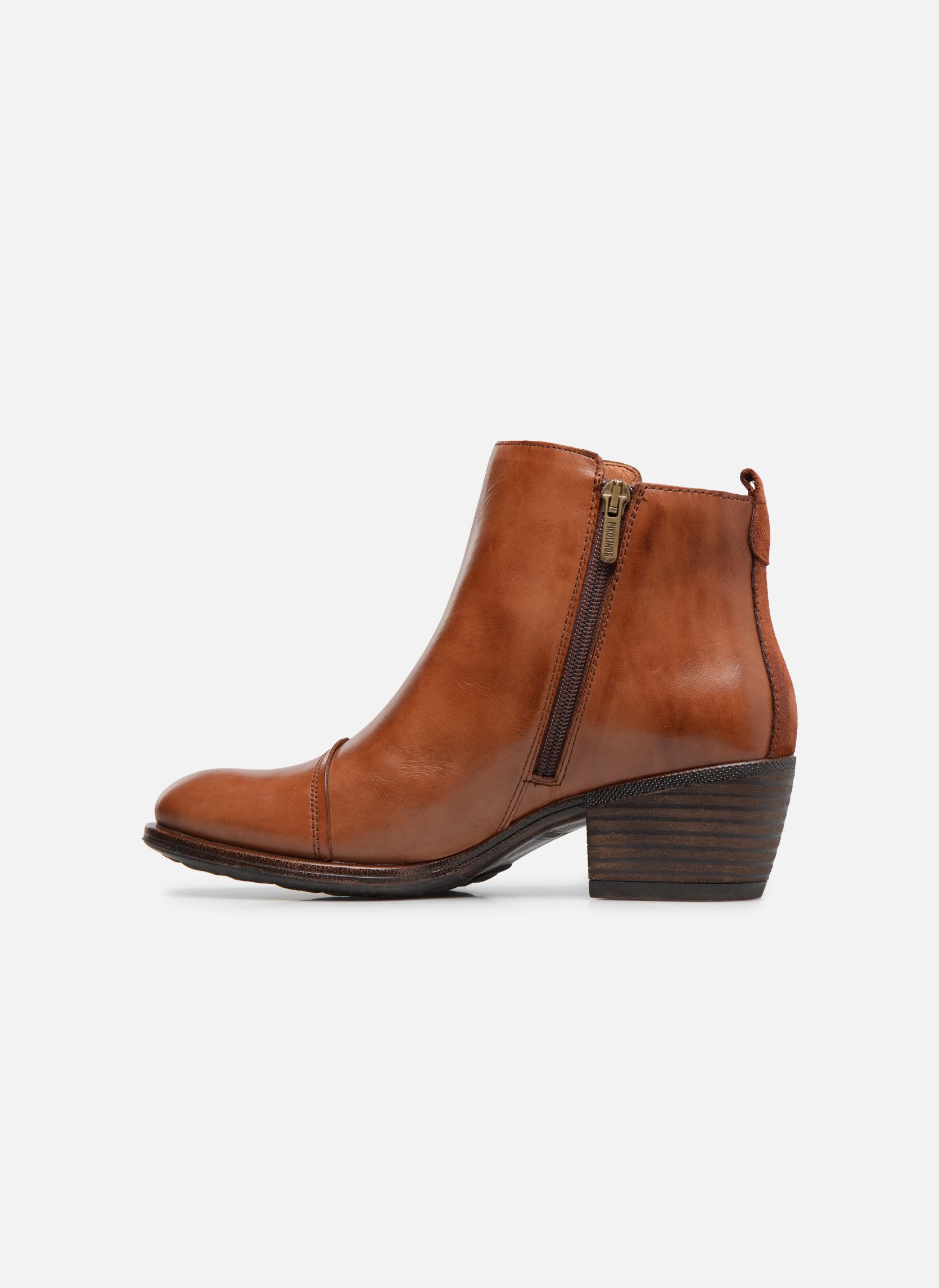 Bottines et boots Pikolinos Baqueira W9M-8941 Marron vue face