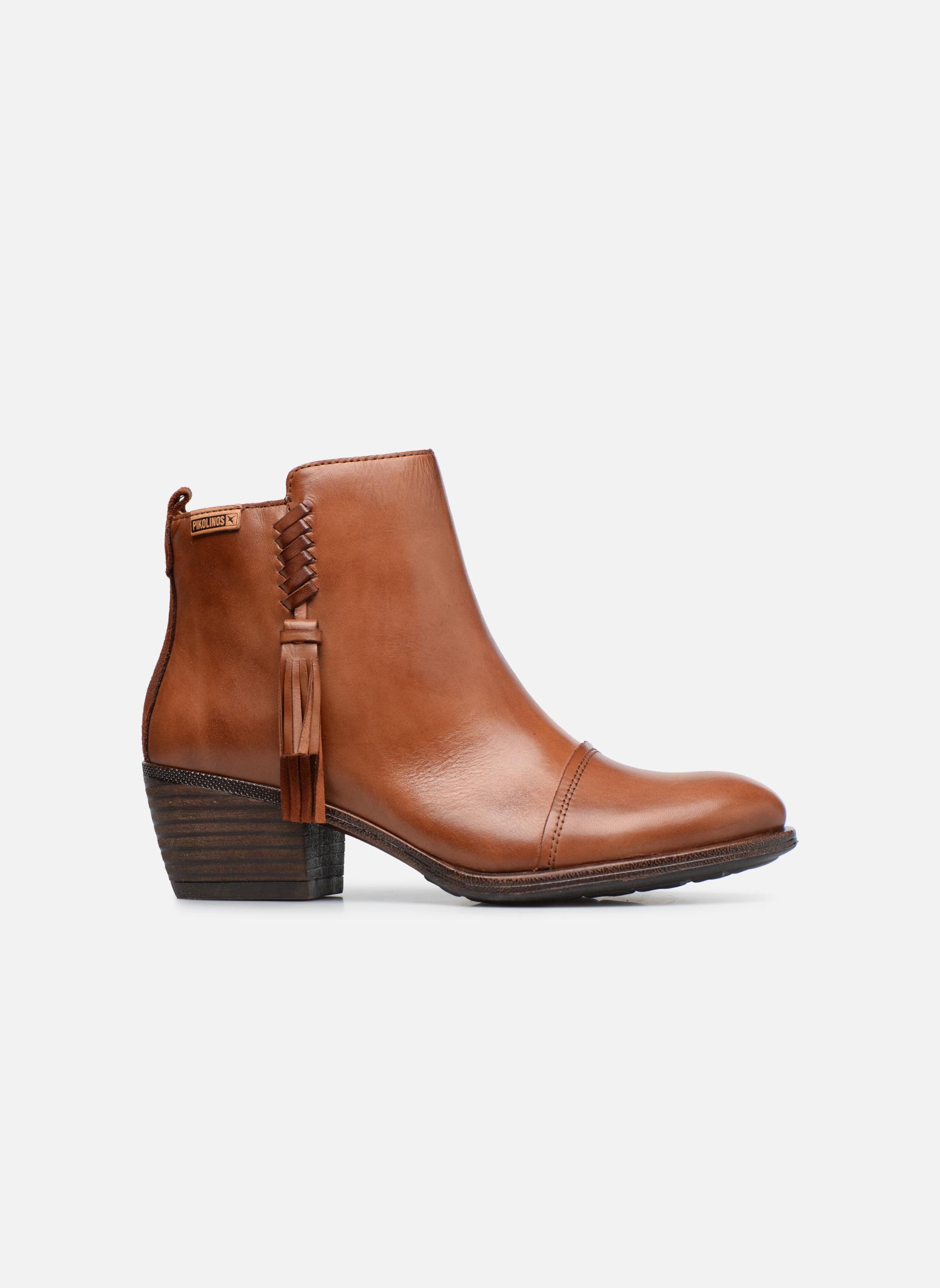 Bottines et boots Pikolinos Baqueira W9M-8941 Marron vue derrière