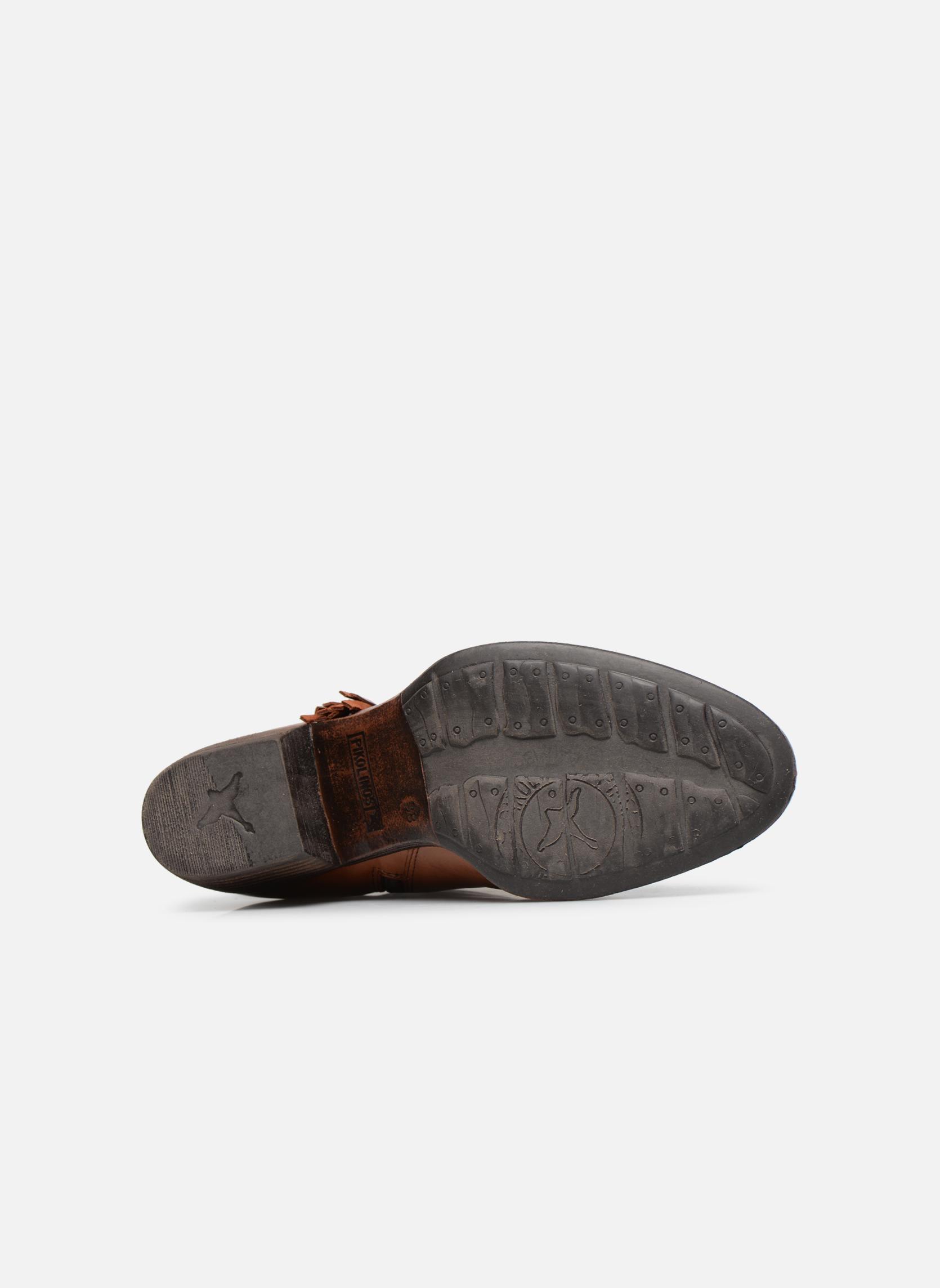 Bottines et boots Pikolinos Baqueira W9M-8941 Marron vue haut