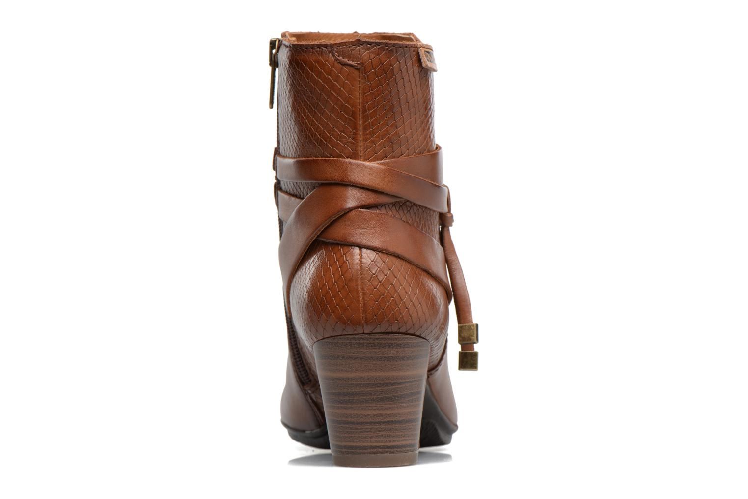 Ankle boots Pikolinos SEGOVIA W1J-8531 Brown view from the right