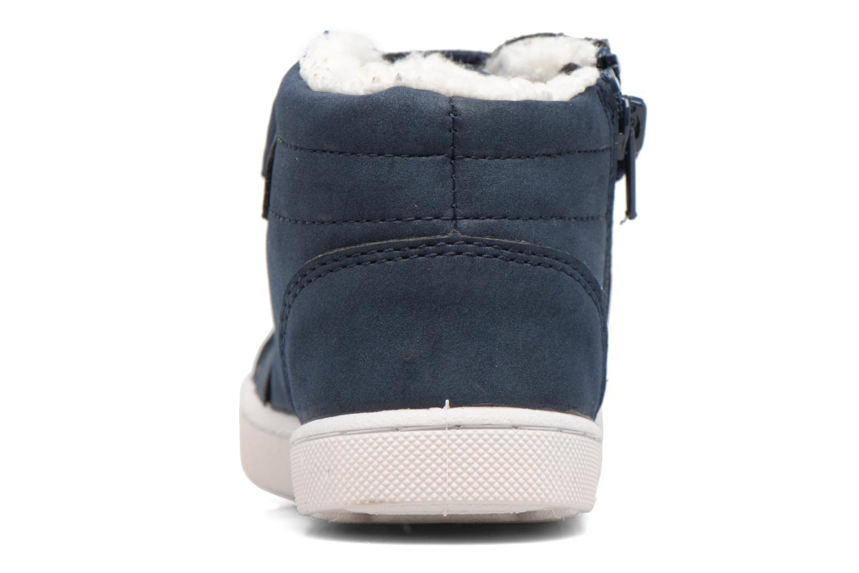Baskets Esprit Jojo Zip Bootie Bleu vue droite