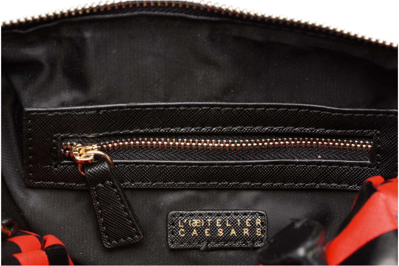LOLA Bowling Bag S Rayures rouge/noir