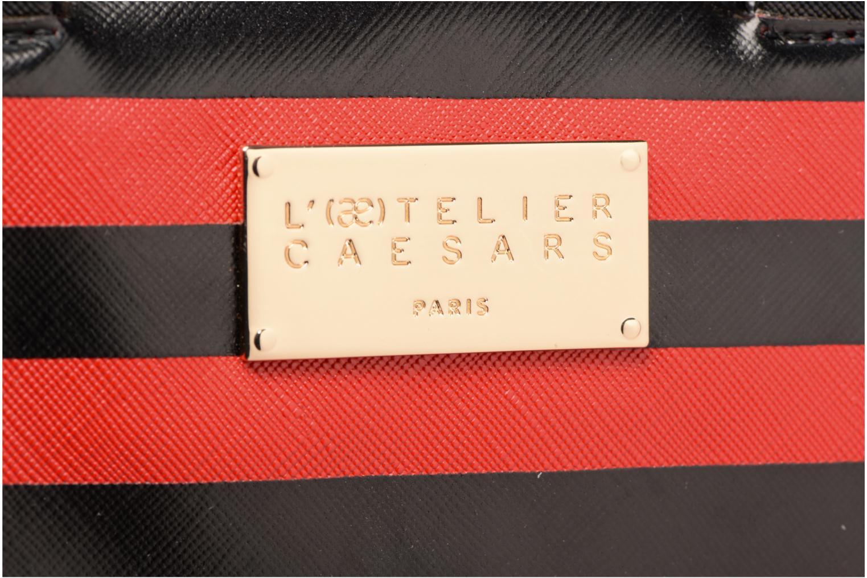 Sacs à main L'Aetelier Caesars LOLA Bowling Bag S Rouge vue gauche