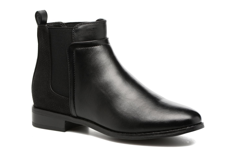 Bottines et boots ONLY Bobby elastic bootie Noir vue détail/paire