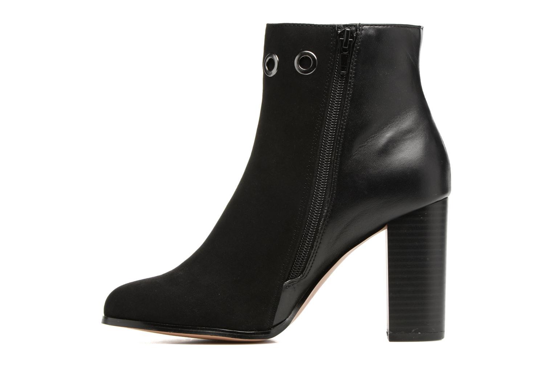 Bottines et boots ONLY Broom Noir vue face
