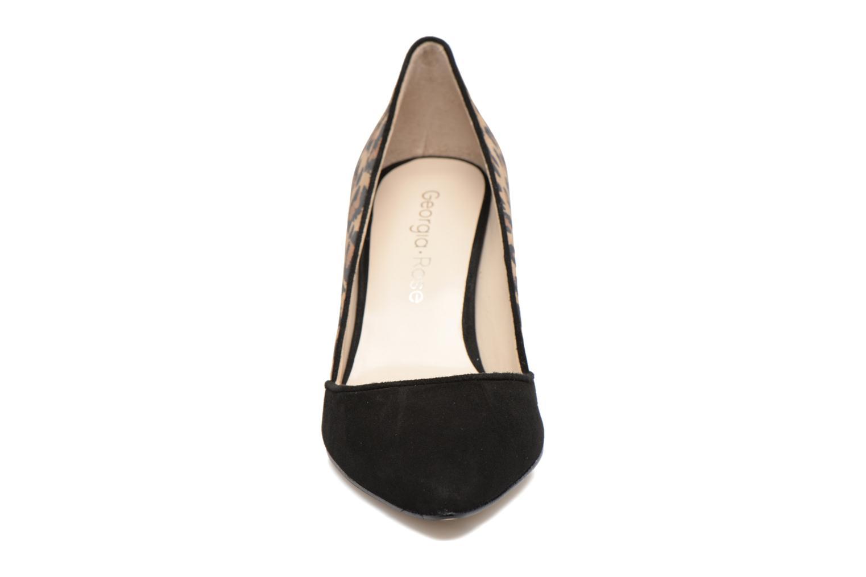 Escarpins Georgia Rose Elona Marron vue portées chaussures