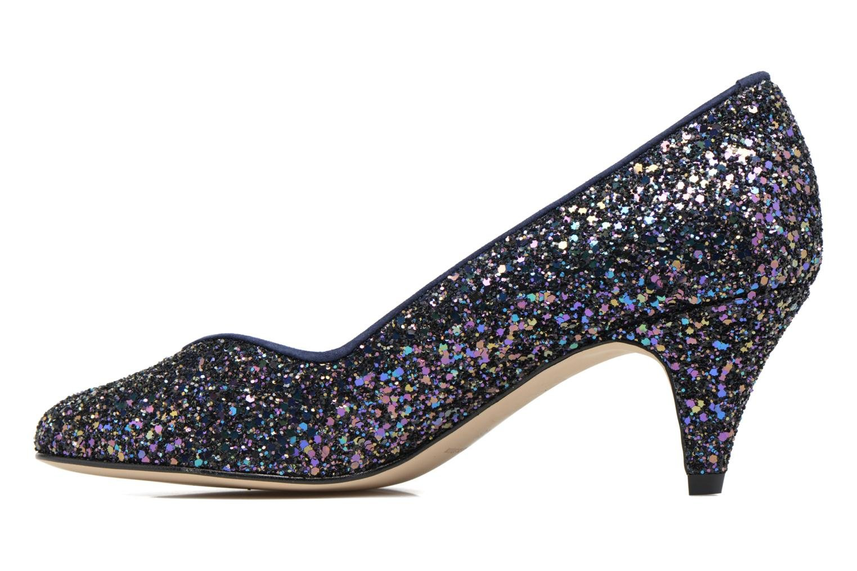 High heels Georgia Rose Engliter Blue front view