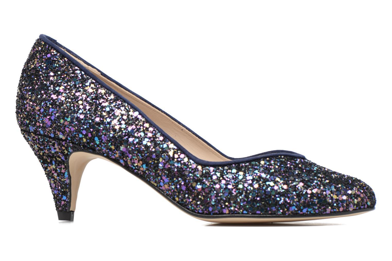 High heels Georgia Rose Engliter Blue back view