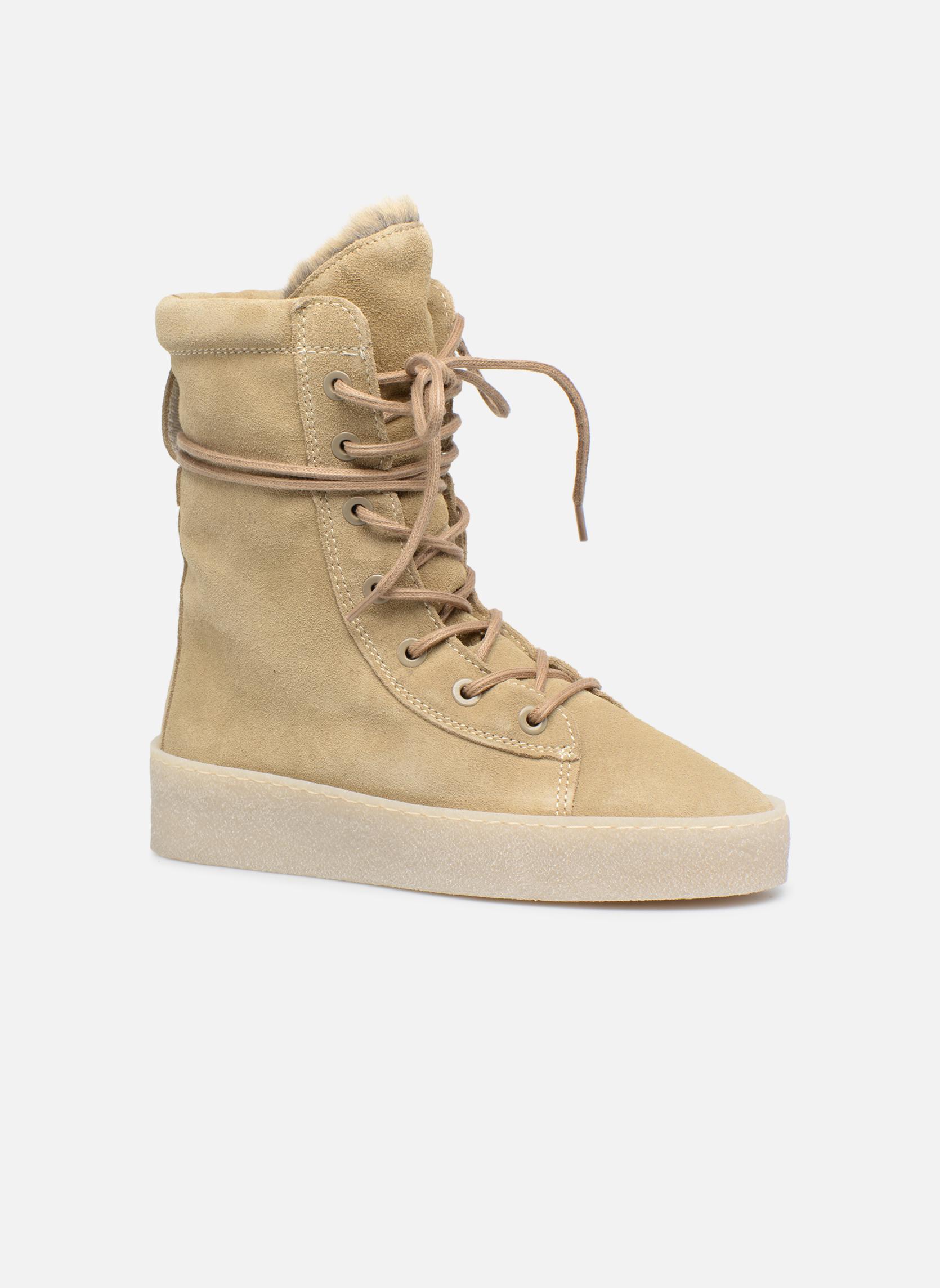 Bottines et boots Bronx Bsillax Beige vue détail/paire