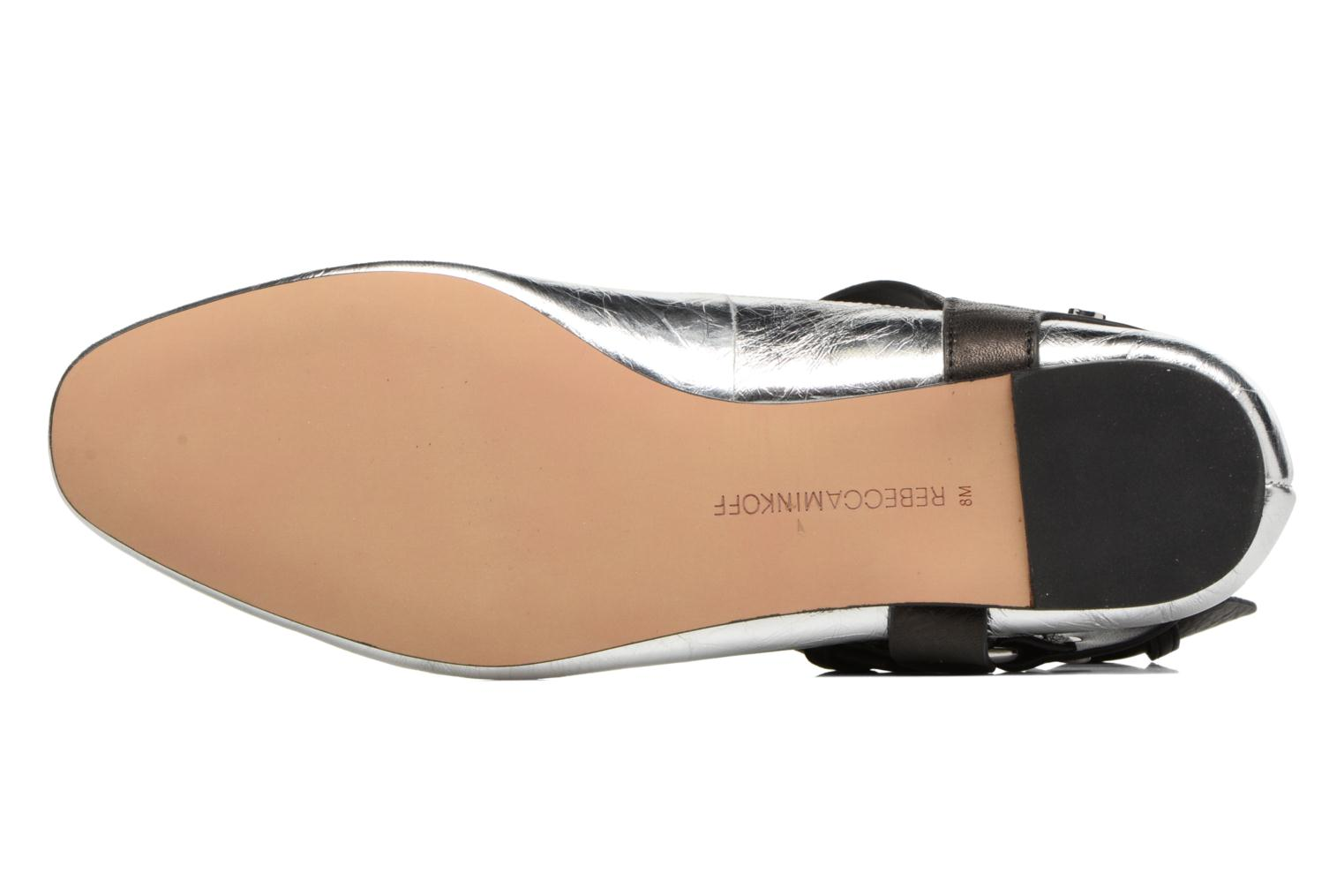 Ballet pumps Rebecca Minkoff Vivica Silver view from above