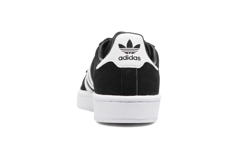 Baskets Adidas Originals Campus J Noir vue droite
