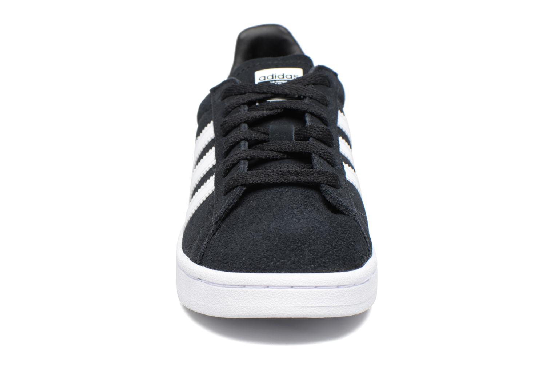 Baskets Adidas Originals Campus C Noir vue portées chaussures