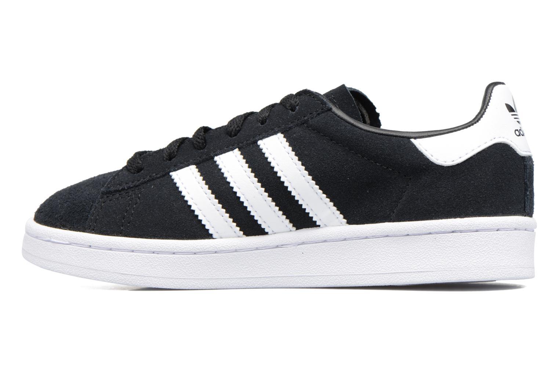 Sneakers Adidas Originals Campus C Nero immagine frontale