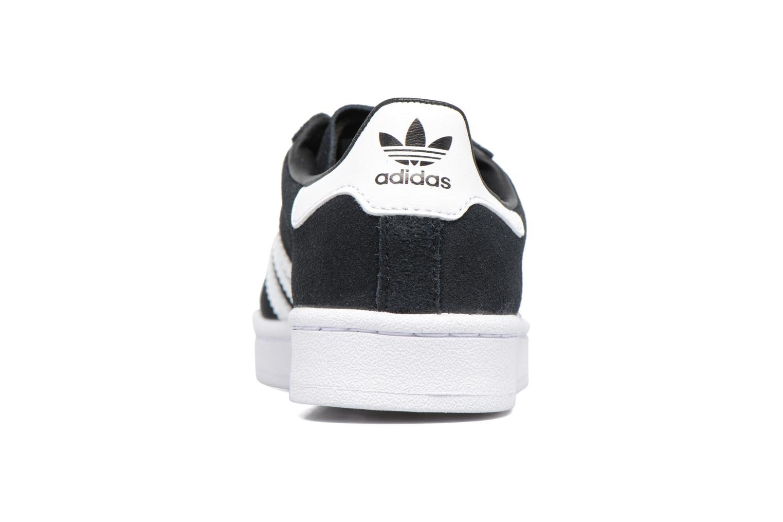 Baskets Adidas Originals Campus C Noir vue droite