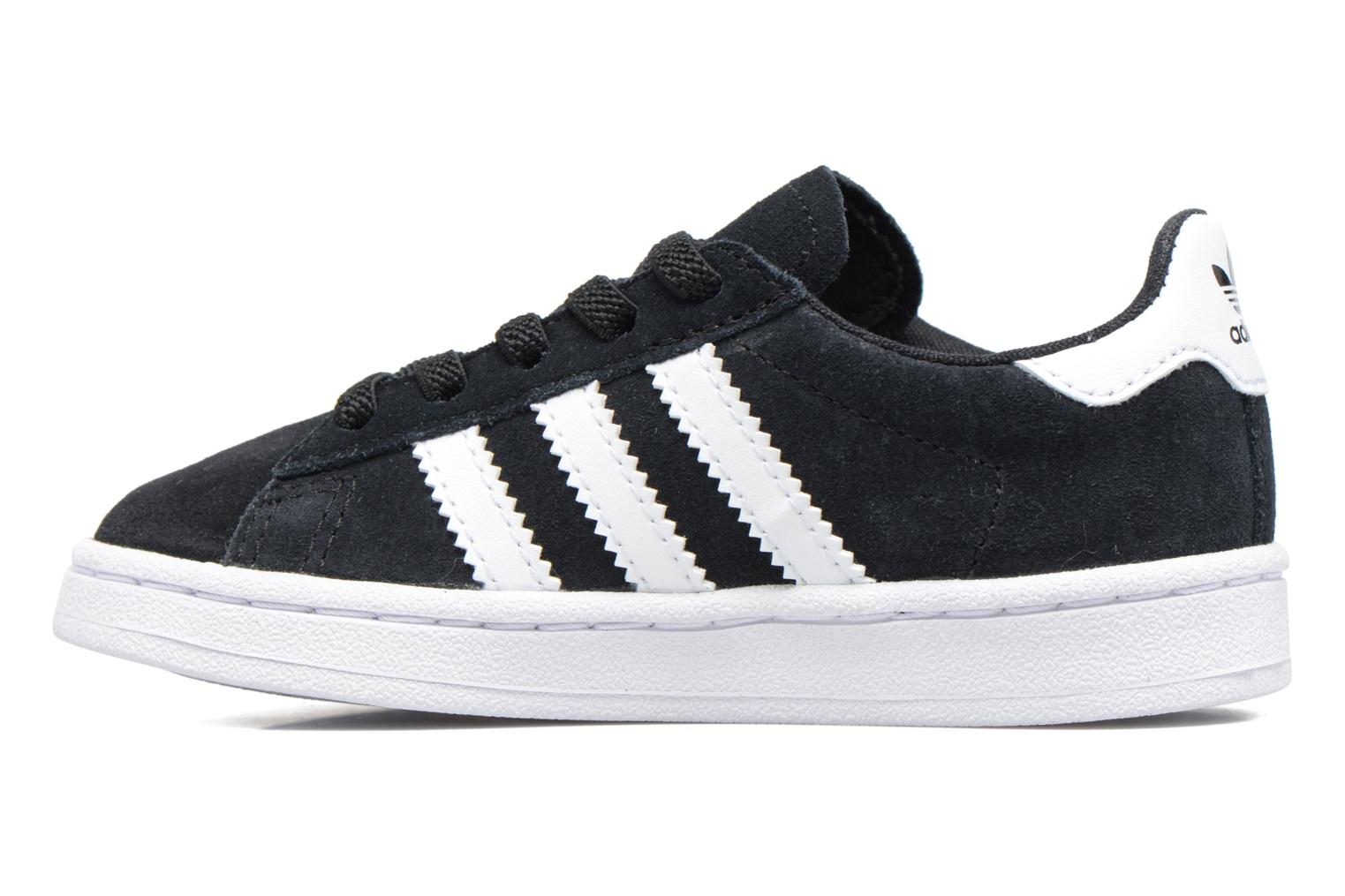 Baskets Adidas Originals Campus El I Noir vue face