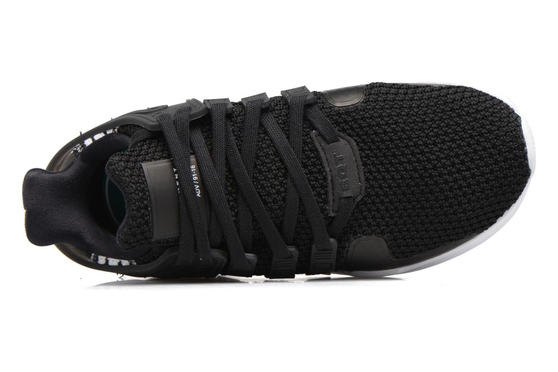 Baskets Adidas Originals Eqt Support Adv C Noir vue gauche
