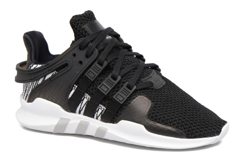 Baskets Adidas Originals Eqt Support Adv C Noir vue détail/paire
