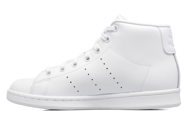 Baskets Adidas Originals Stan Smith Mid J Blanc vue face