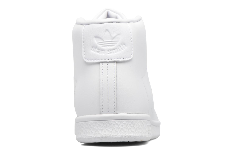 Baskets Adidas Originals Stan Smith Mid J Blanc vue droite