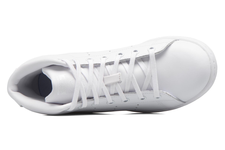 Baskets Adidas Originals Stan Smith Mid J Blanc vue gauche