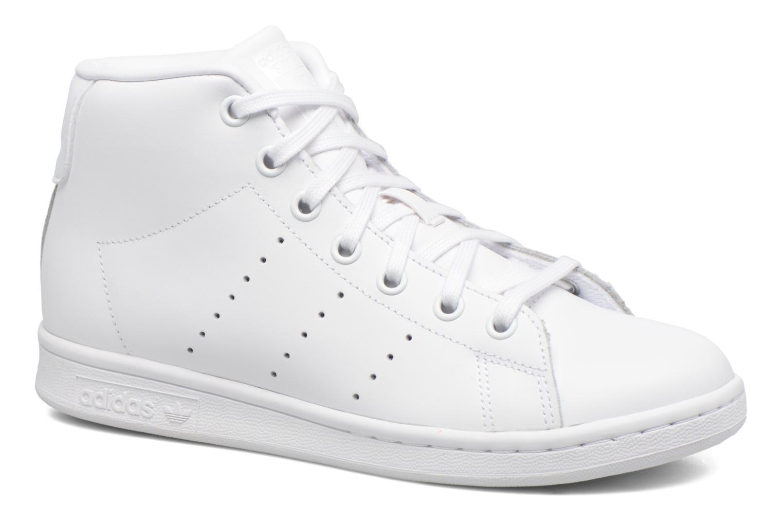 Baskets Adidas Originals Stan Smith Mid J Blanc vue détail/paire