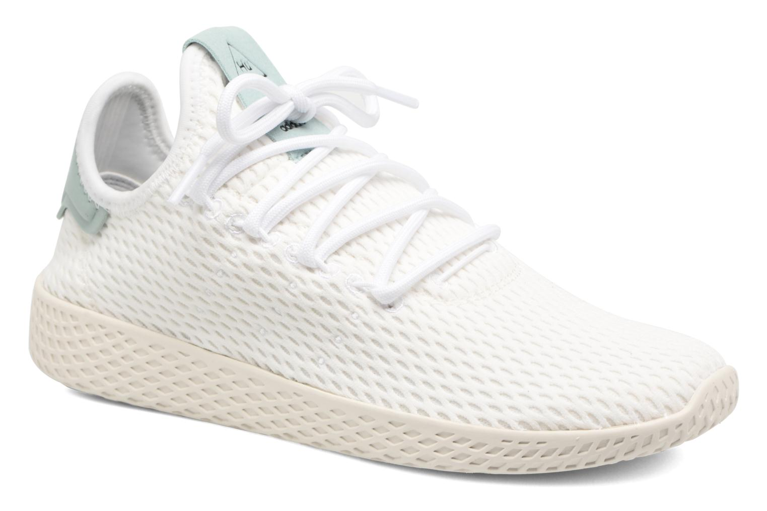 Sneaker Adidas Originals Pharrell Williams Tennis Hu J weiß detaillierte ansicht/modell