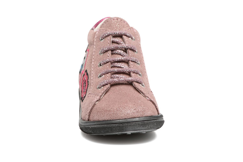 Bottines et boots Bopy Zeana Rose vue portées chaussures