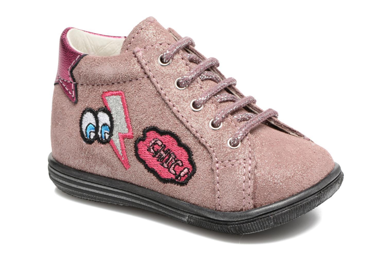 Bottines et boots Bopy Zeana Rose vue détail/paire