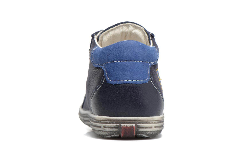 Bottines et boots Bopy Zat Bleu vue droite