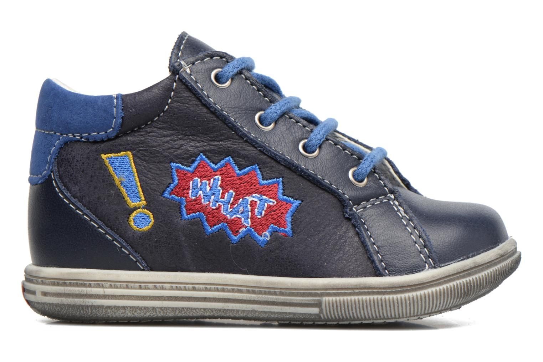 Bottines et boots Bopy Zat Bleu vue derrière