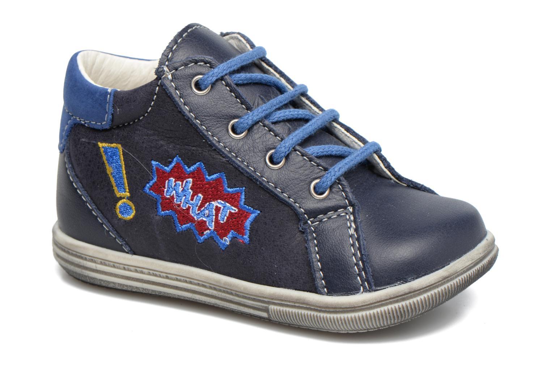 Bottines et boots Bopy Zat Bleu vue détail/paire