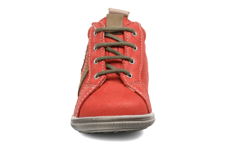 Bottines et boots Bopy Zakir Rouge vue portées chaussures
