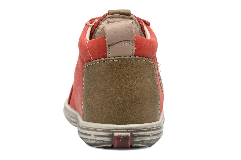 Bottines et boots Bopy Zakir Rouge vue droite