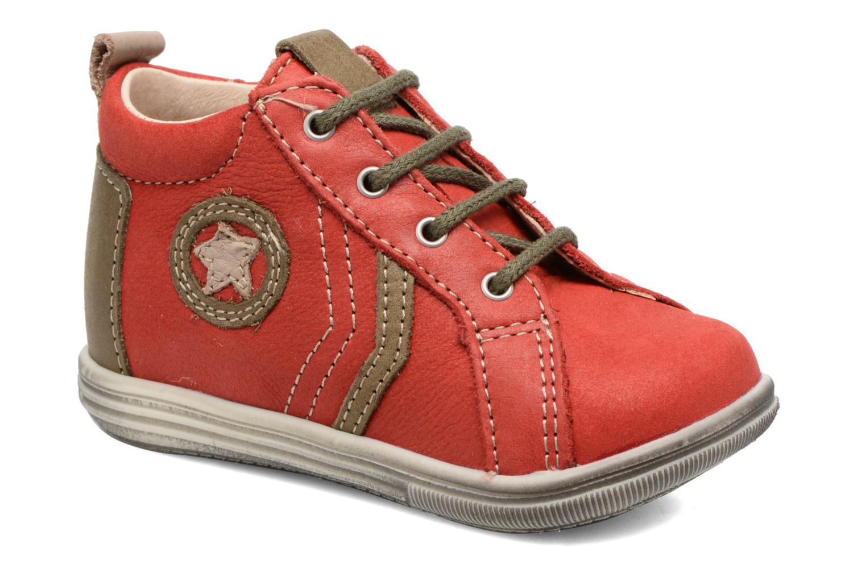 Bottines et boots Bopy Zakir Rouge vue détail/paire