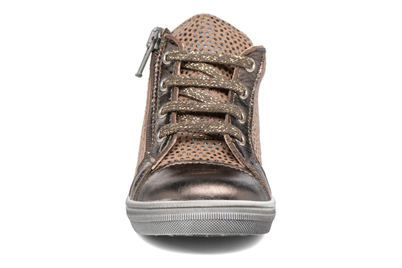 Baskets Bopy Belette Marron vue portées chaussures