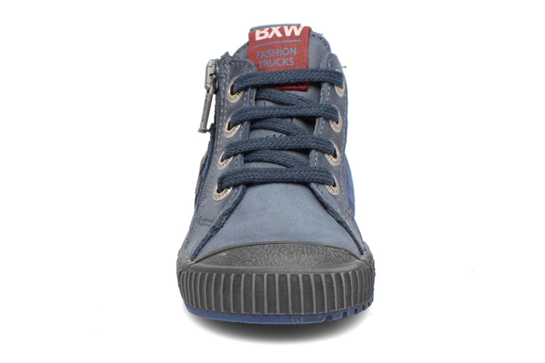 Baskets Bopy Bojan Bleu vue portées chaussures