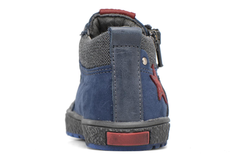 Baskets Bopy Bojan Bleu vue droite