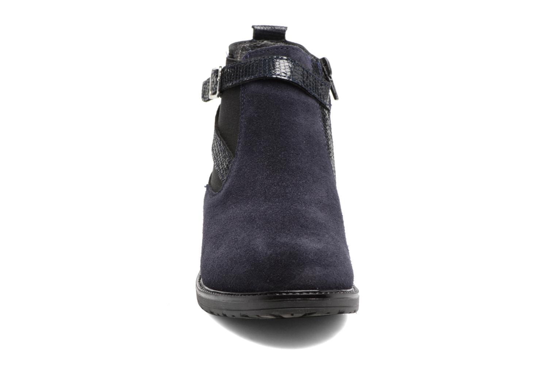 Bottines et boots Bopy Sisley Bleu vue portées chaussures