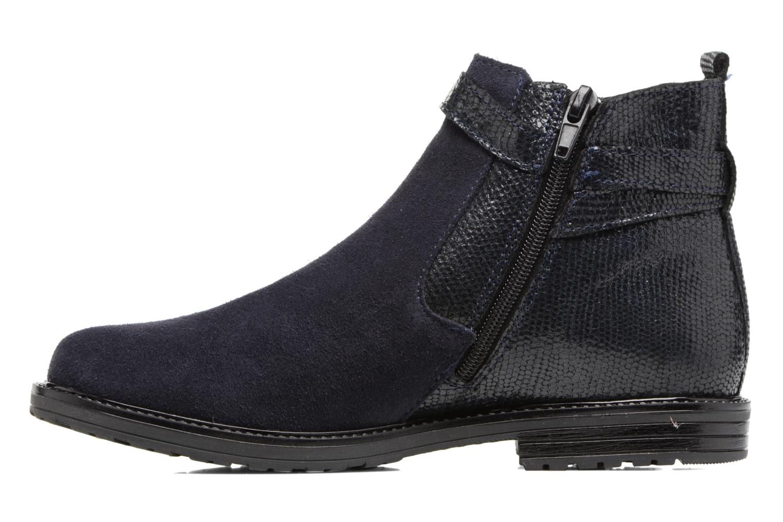 Bottines et boots Bopy Sisley Bleu vue face