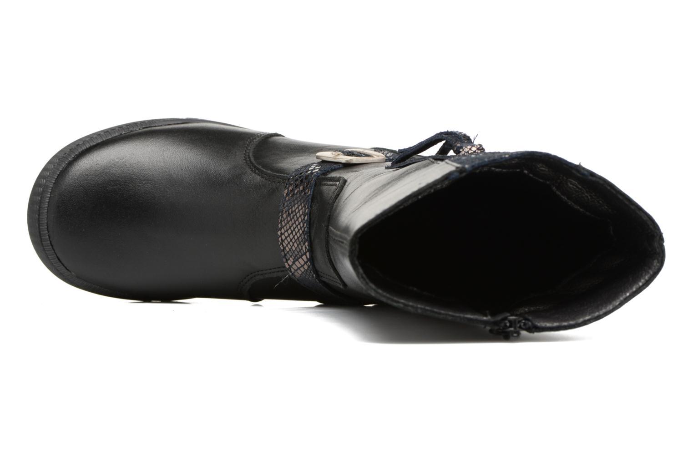 Bottes Bopy Sanou Noir vue gauche