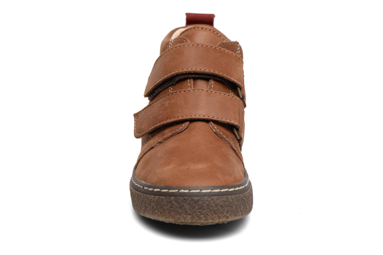 Baskets Bopy Vlaise Marron vue portées chaussures