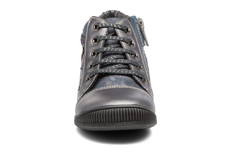Bottines et boots Bopy Niplume kouki Bleu vue portées chaussures