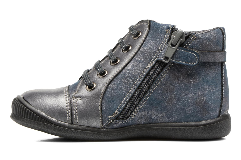 Bottines et boots Bopy Niplume kouki Bleu vue face